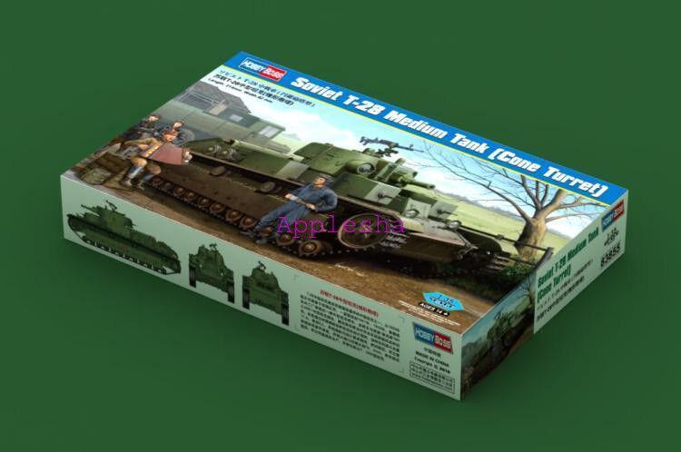 Hobbyboss 1 35 83855 Soviet T-28 Medium Tank Cone Turret Model Kit