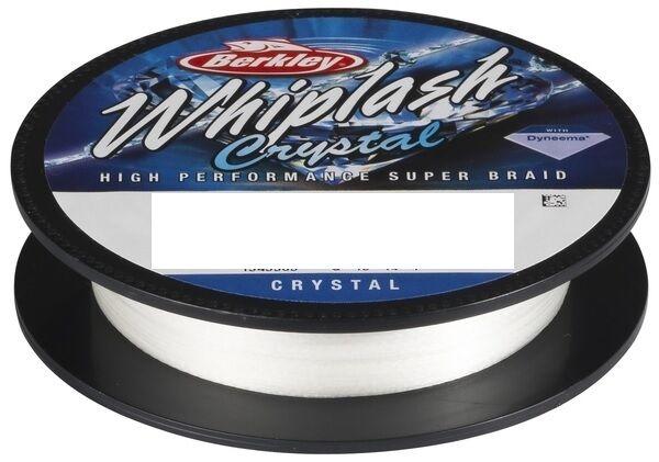 Berkley Whiplash Crystal 500m   0,15mm   18,5Kg Geflochtene Schnur white