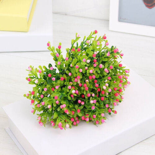 5 Heads Artificial Flowers Imitation Plants Plastic Flower Home Garden Branch