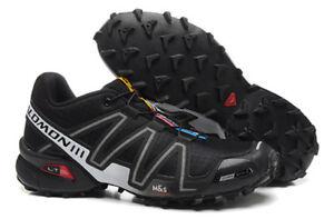 Détails sur Men's Salomon Speed Cross 3 Sports Outdoor Randonnée Chaussures De Course Baskets afficher le titre d'origine