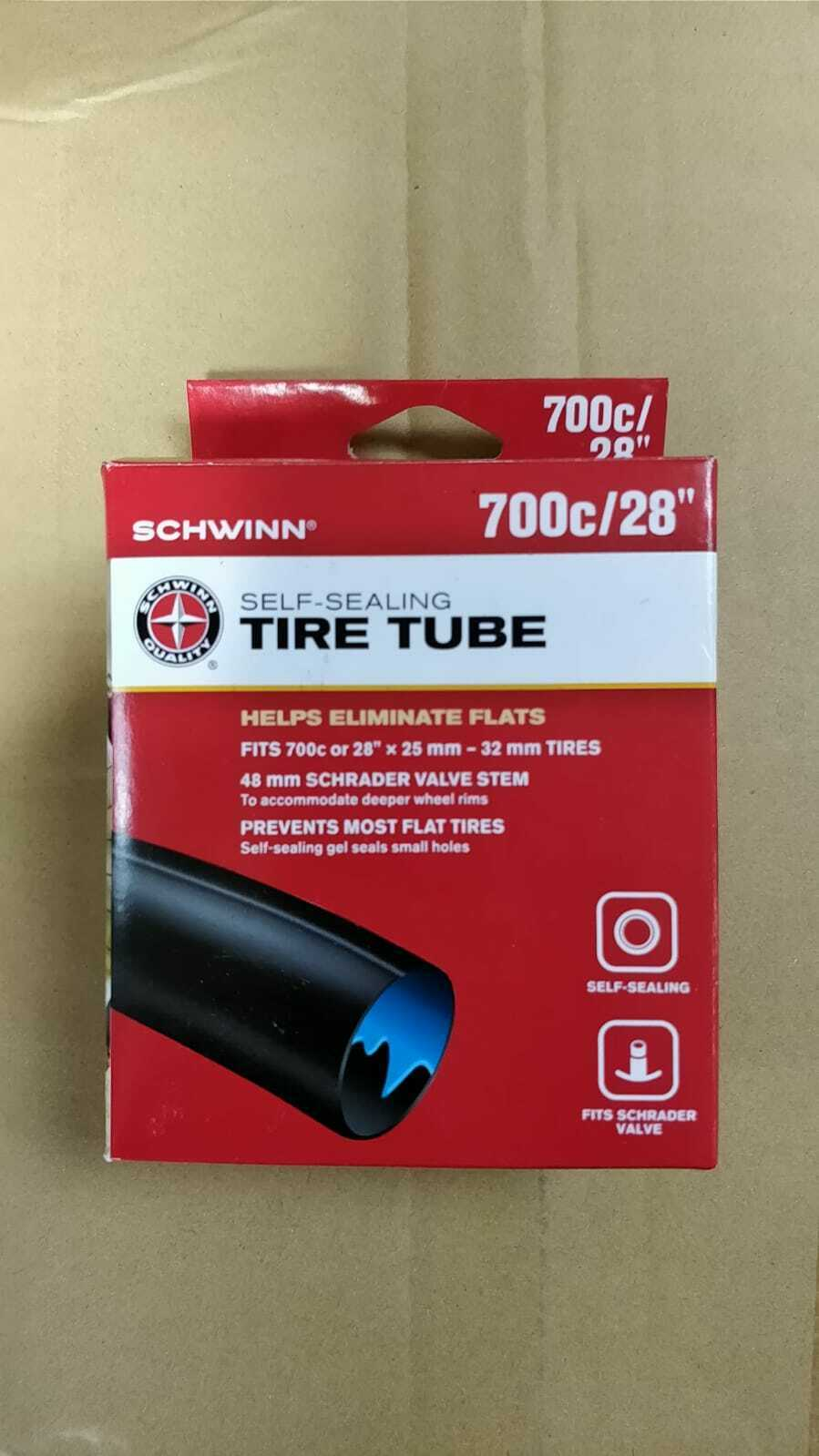 Bicycle Tube PRO-DURO 700 x 35c//43c 48mm Thorn Resistant Schrader//Valve  BMX