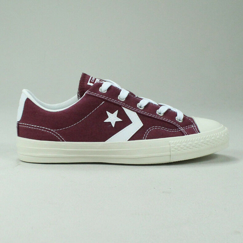 Converse Star Player Ox Chaussures Baskets en Bourgogne Taille Uk Taille 4,5,6,7,8,9,10
