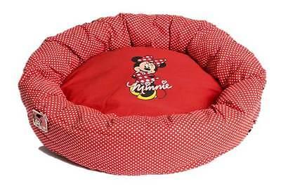Disney Pampered Minnie Venus Katzenbett Hundebett Haustier-bett Rot Neu!