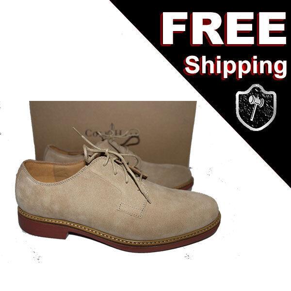 NEW COLE HAAN Mens 8.5 M D C136262 Great Jones Oxford shoes MilkShake Suede