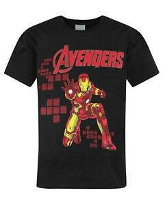Marvel-Avengers-Iron-Man-Boy-039-s-T-Shirt