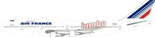 INvolo WB741AF08 1200 Air France Boeing 747100 Fbpvl Jumbo con supporto