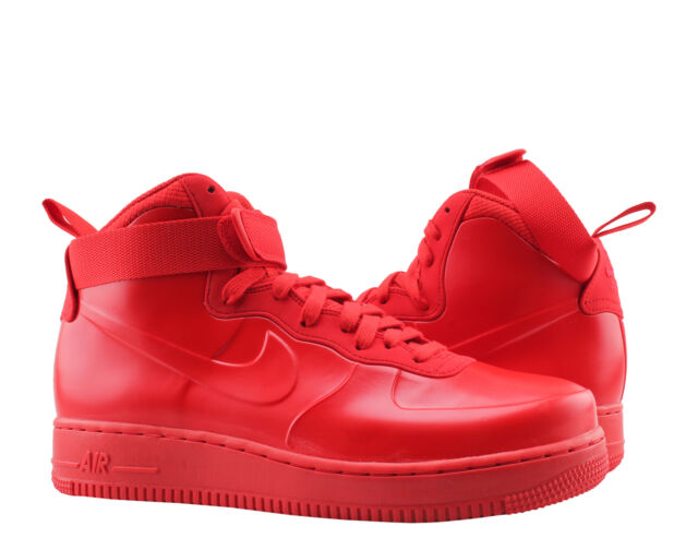 Nike Air Force 1 Foamposite Cup Af1 Men Size 10 Triple University Red Penny