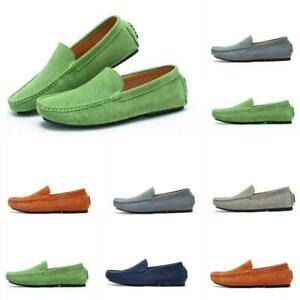 casual men gommino slip on hollow out driving moccasins
