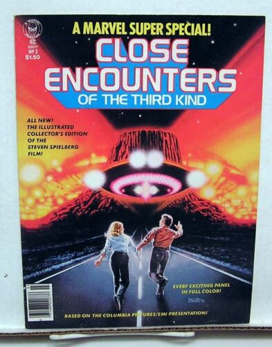 1978 Marvel Comics Super Special CLOSE ENCOUNTERS Mag