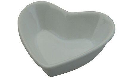 Apollo Heart Shaped Dipping Bowl Ramekin Fine Porcelain