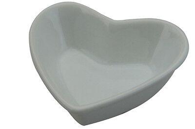 Apollo Heart Shaped Dipping Bowl Ramekin Fine Porcelain