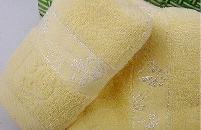NEW Style Mushrooms Soft Bathroom Wash Cotton Towel Washcloths Face Fitness JCAU