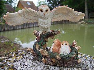 Mo0520 Figurine Statuette Statue Chouette Hibou Bebe Chouetton Oiseau 6v216gva-07234502-504714207