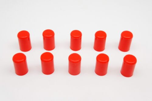 "10pcs RED Silicone Caps ID 12mm 1//2/"" Vacuum End Plug Tube Cover by AUTOBAHN88"