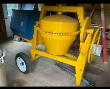 New Never Used Stone Cm 65 Cement Mixer With 8 Hp Honda Engine