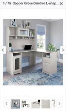 Copper Grove Daintree L Shaped Desk With Hutch
