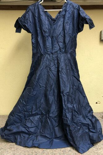 Vintage Blue Joan Doris By Rona Dress