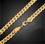 18k-Gold-Kette-vergoldet-Halskette-Panzerkette-Schmuck-Herren-Maenner-Edelstahl Indexbild 5