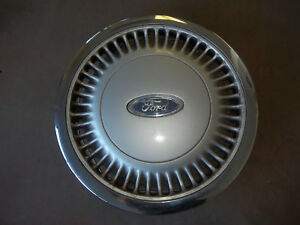 86-87-88-89-90-91-Ford-Taurus-Hubcap-Rim-Wheel-Cover-Hub-Cap-14-034-OEM-852-USED