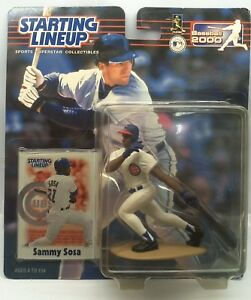 2000 Kenner Starting Lineup SAMMY SOSA CHICAGO CUBS