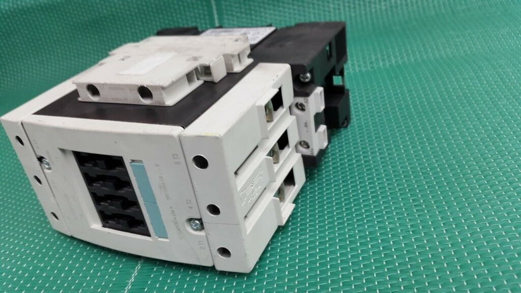 Siemens sirius 3RT1044-1bb40  triple phase with 2 x 3RH1921-1DA11 auxiliary cont