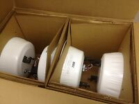 Case Of 4 Quam Bb2 8 White Ceiling Speakers Beam Mount