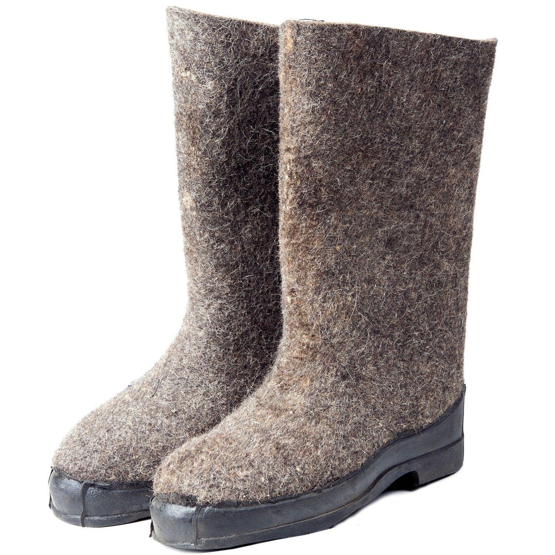 Russian Original Valenki   Felt Boots   100% Wool   Walenki   USSR   Winter