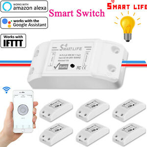 Basic Smart Home WiFi Wireless Light Switch DIY Module