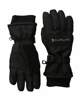 Carhartt Men's W.p. Waterproof Insulated Work Glove Black Large Free Shipping