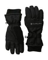 Carhartt Men's W.p. Waterproof Insulated Work Glove Black Large Free Shipping