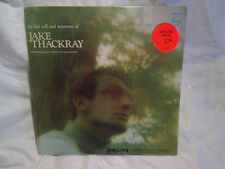 JAKE THACKRAY The Last Will And Testament Of SEALED LP,philips 600-275,statues