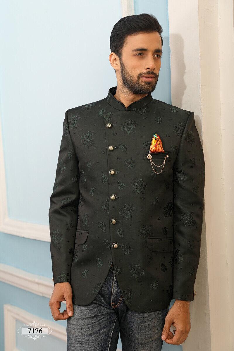 Indin Mens Bollywood Wedding Wear Traditional Mens Wear Jodhpuri Coat From India