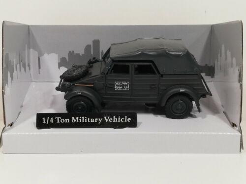 NEU 1:43 Cararama  4-90740  VW Kübel Typ 82 EDW grau Spur 0