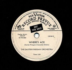 The-SAUTER-FINEGAN-Orchestra-on-1954-RCA-Victor-20-5614-Promo-Where-s-Ace