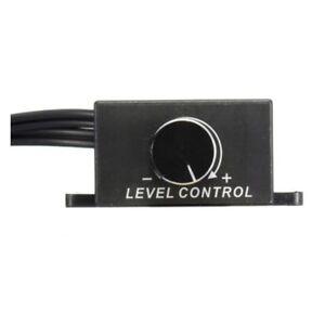 Q6C7-Car-Home-Audio-Amplifier-Bass-RCA-Gain-Level-Volume-Control-Knob-LC-1-Bla