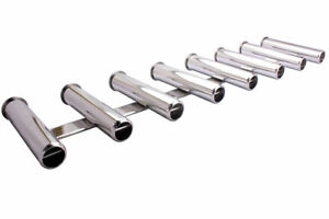 Exclusive! 316 Stainless Steel 8 Link Fishing Rod Holder 8 Tube for Marine Yacht