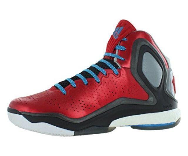 size 40 8d94a 3522d adidas D Rose 5 Boost Basketball Shoes Scarlet Solar Blue Core Black ...
