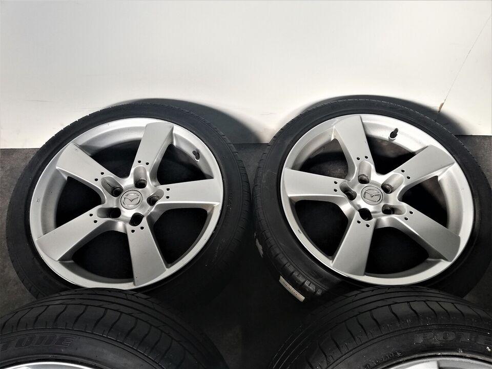 "5x114,3 18"" ET50, Mazda fælge"
