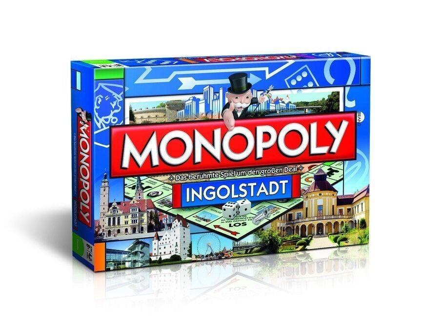 Original - monopol ingolstadt city edition cityedition stadt brettspiel spiel neu