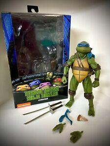 NECA Teenage Mutant Ninja Turtles TMNT Movie Leonardo Loose