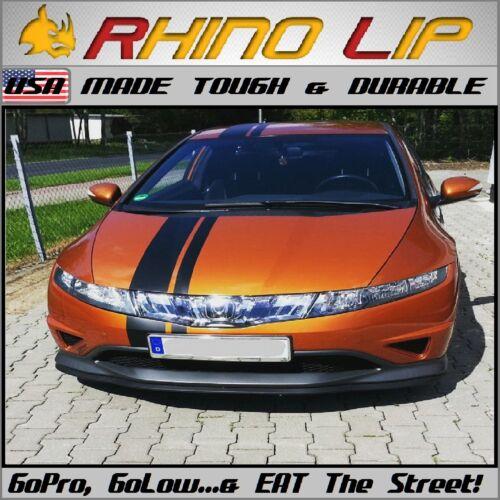 Honda STi OSIR SIR Type-R JDM Coupe Universal Front Rubber Chin Spoiler Splitter
