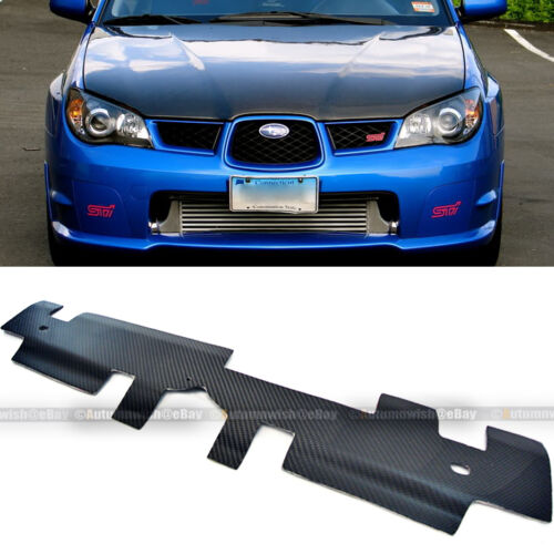 Fit 02-07 WRX Custom Made Carbon Fiber Radiator Diversion Panel Cooling Plate
