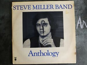 STEVE MILLER BAND ANTHOLOGY VINYL LP CAPITOL RECORDS ALBUM 1972 EST-SP 12 ROCK