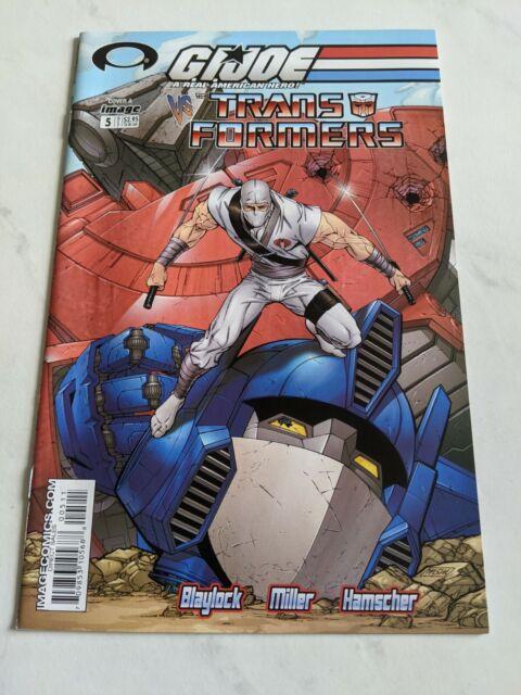GI Joe Vs The Transformers #5 A October 2003 Image Comics
