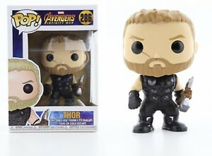 Funko Pop Marvel Avengers Infinity War - Thor Vinyl Bobble-Head Item #26464