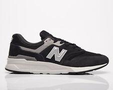 New Balance 997 ч мужские черные серебристые низкие спортивные повседневные повседневные кроссовки, обувь
