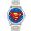 Superman-Superhero-Krypton-Quartz-Silver-Stainless-Steel-Mens-Wrist-Watch thumbnail 1