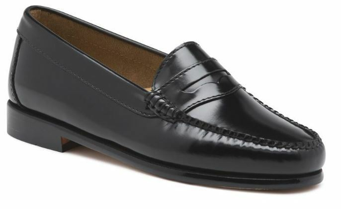 BASS DIANE Weejuns Loafers Black 8M 8.5M 8.5W 9W 9M 10M New in Box Classic