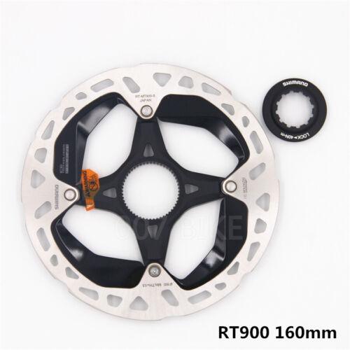 Shimano XTR RT-MT900 ICE-TECH Center Lock Disc Brake Rotor 160//180mm w//LockRing