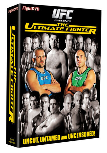 1 of 1 - New & Sealed UFC The Ultimate Fighter Season1 DVD (5 Discs) Liddell v Couture